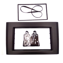 De calidad superior Fascia 2DIN Radio de Coche para VOLVO XC90 Facia Dash Instalación de Montaje Kit de Acabado marco de DVD
