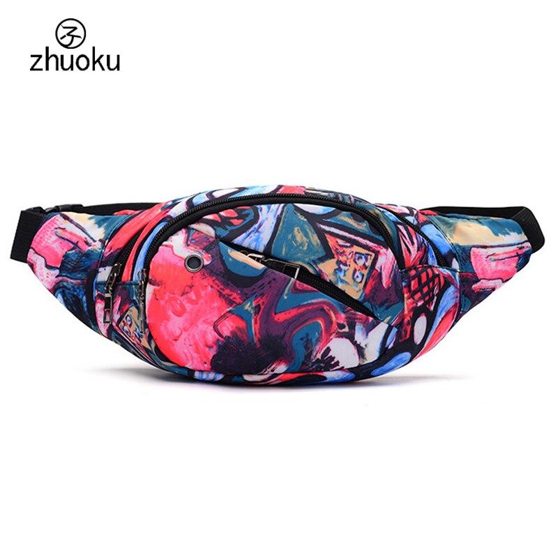 men and women waist bag money belt fanny pack Riding Climb jump waist packs Headphone jack sac banane Mobile phone package Z405 цена