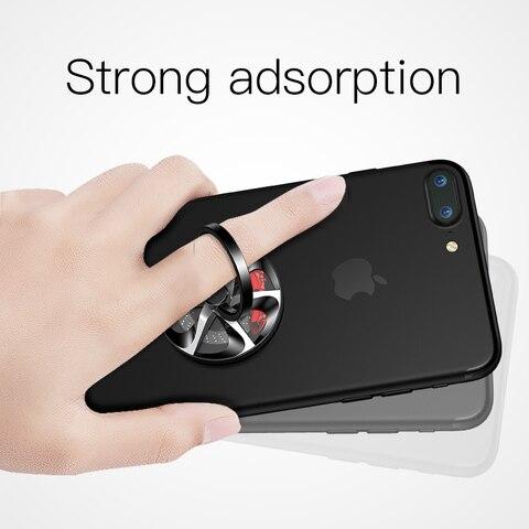 Baseus Finger Spinner Holder Bracket Universal Phone Ring Holder Stand For iPhone 7 6 360 Degree Mobile Phone Finger Ring Holder Lahore
