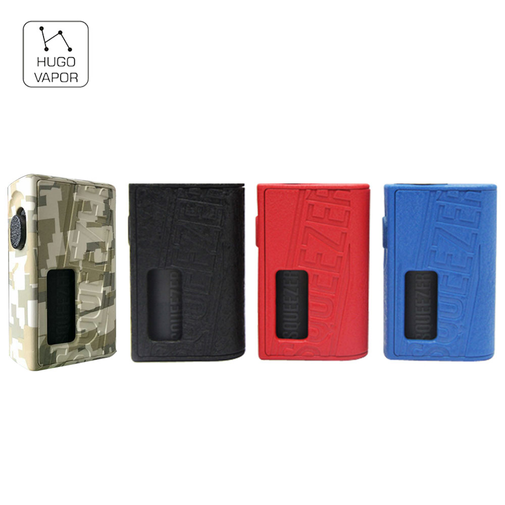 Original Hugo Vapor Squeezer BF 20700 Mechanical Box MOD with 10ml Silicone Bottle & Nylon Fibre Material E-cig Mod No BatteryOriginal Hugo Vapor Squeezer BF 20700 Mechanical Box MOD with 10ml Silicone Bottle & Nylon Fibre Material E-cig Mod No Battery