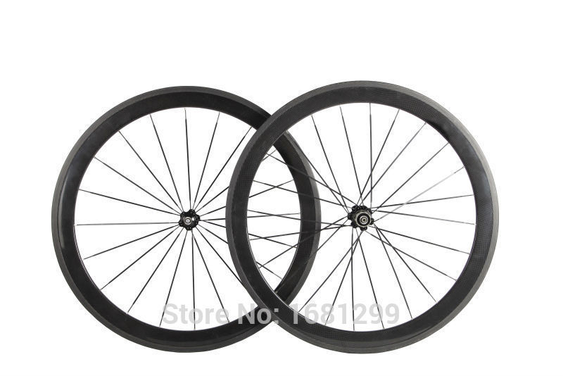 1pair New 700C 50mm clincher rim Road bike 3K UD 12K full carbon bicycle wheelsets aero spoke 20.5/ 23/ 25mm width Free shipping 26er full carbon fiber 100mm width snow fat bike rim black disc brake bicycle rim