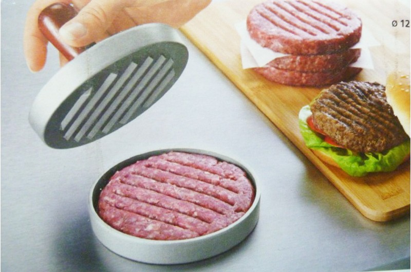 hamburger mold. (5)