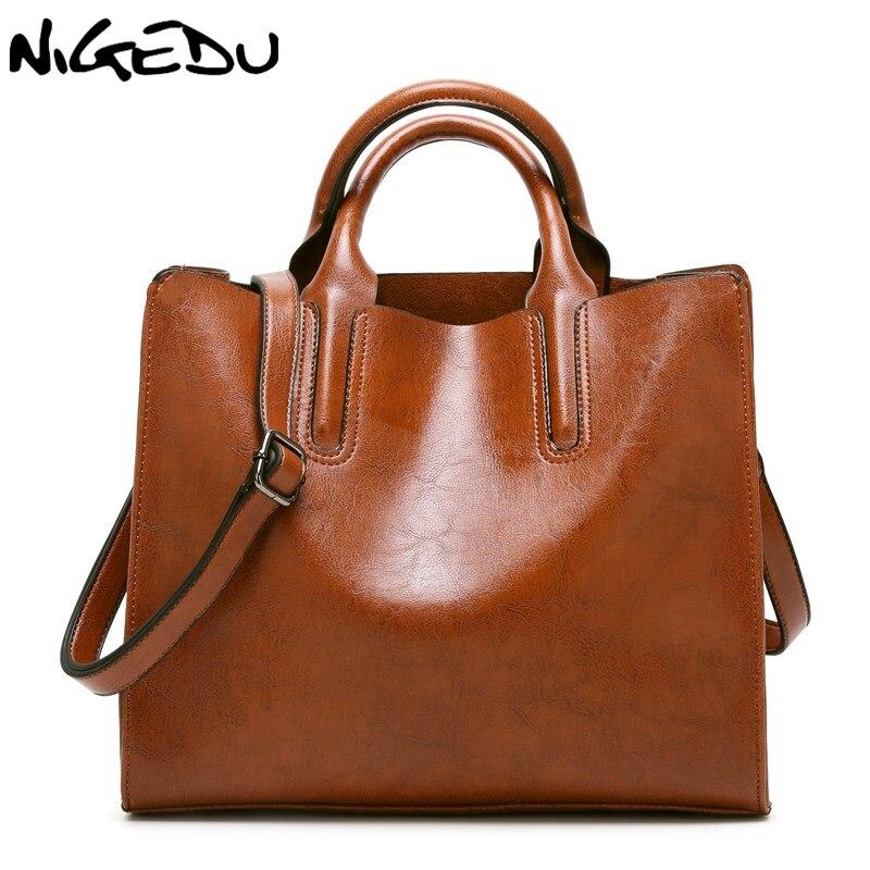 NIGEDU Brand Leather Women Hands