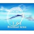 Oi index1.61 finas CR-39 lentes de prescrição normal resistência ao impacto/anti-scratch