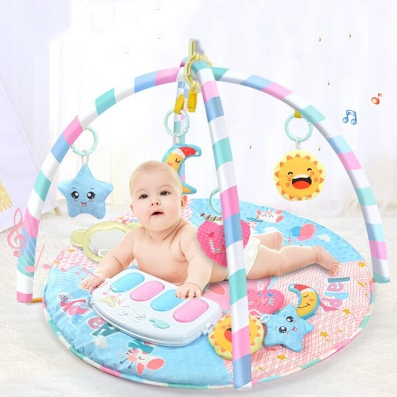 Mother & Kids Baby Play Mat 0-12 Months Baby Soft Gym Blanket Crawling Toy Kids Rug Floor Mat Boy Girl Carpet Game Mat For Children Education Excellent Quality