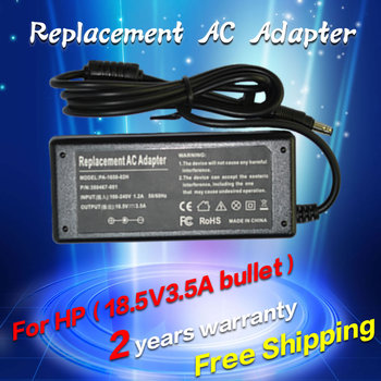 18.5V 3.5A 65W Bullet Replacement For HP Laptop AC Charger Power Adapter Input 100-240V