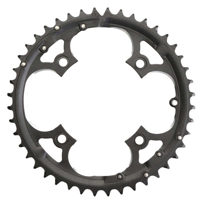 Cadena de 48 T, manivela de velocidad 7/8/9, manivela de velocidad, manivela de acero al carbono, anillo de cadena para bicicleta de carretera MTB, rueda dentada para Shimano SLX XT