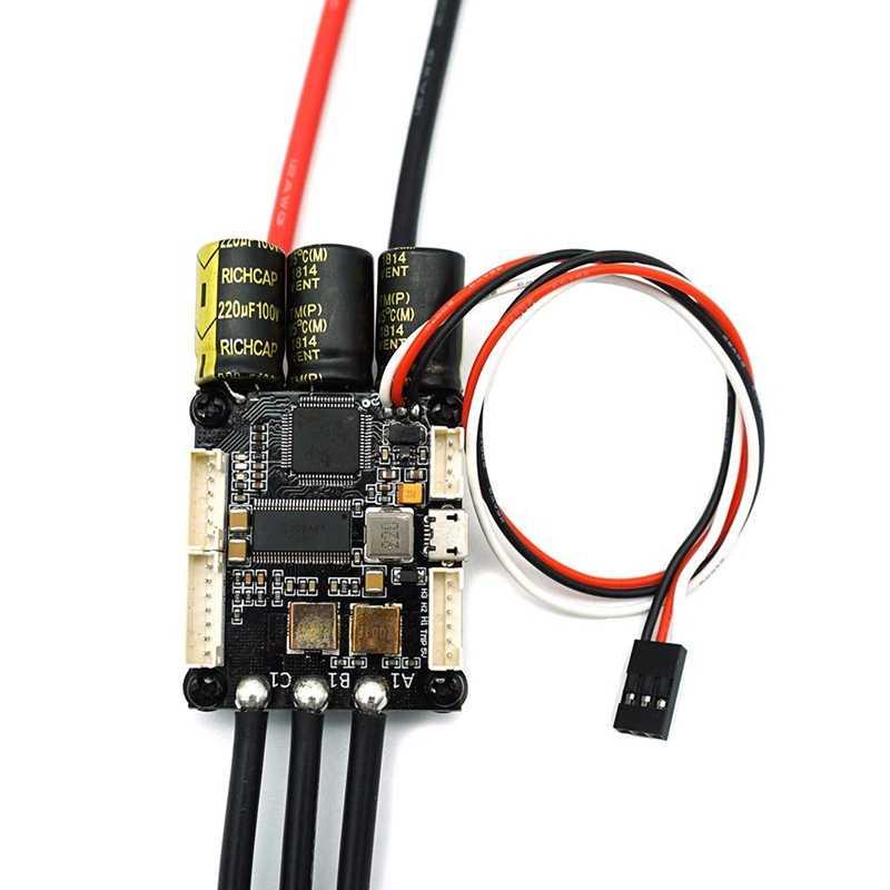 V4.20 мини Fsesc4.20 50A Esc с алюминиевым анодированный теплопоглотитель для электрического скейтборда Rc Радиоуправляемый автомобиль E-Bike E-Scooter робот