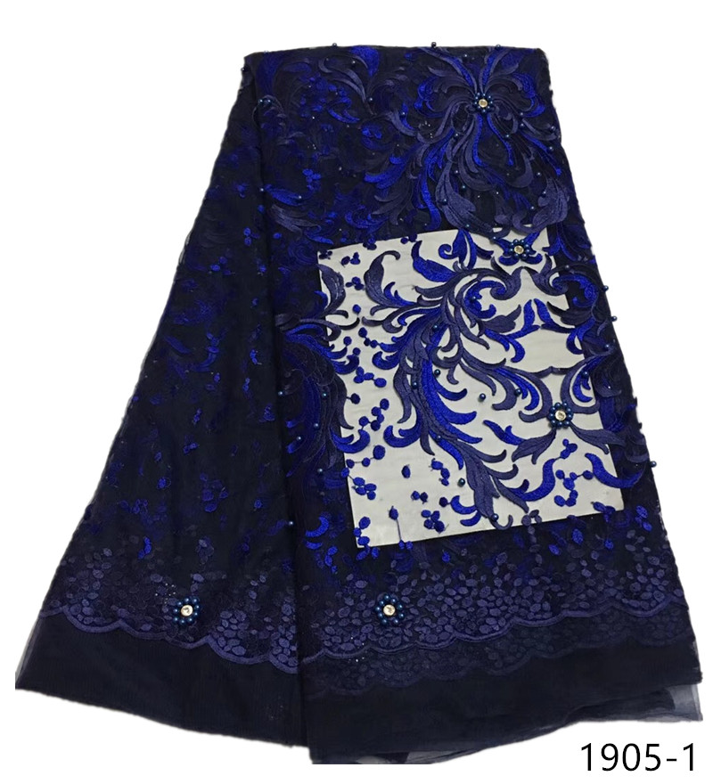 Best Selling African Lace Fabric With Rhinestone Nigerian French Lace Fabric 2019 High Quality African Tulle Lace Fabric 1905Best Selling African Lace Fabric With Rhinestone Nigerian French Lace Fabric 2019 High Quality African Tulle Lace Fabric 1905