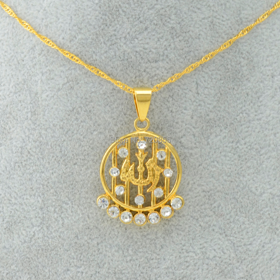 aliexpress buy arabic gold jewelry muslim amulet 22k