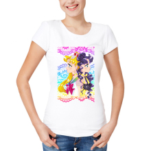 Casual Sailor Moon Design Women's T-Shirt