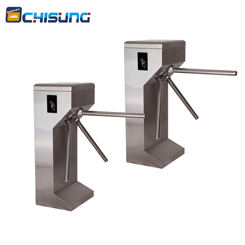 Wholeslae custom FULL Auto rfid access control tripod turnstile Charge Management turnstile subway gates double sided turnstile for access control system catracas tourniquetes