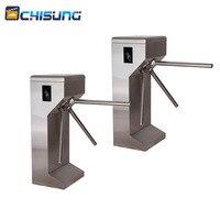 Wholeslae custom FULL Auto rfid access control tripod turnstile Charge Management turnstile subway gates