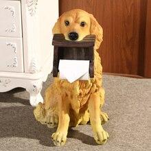 Креативный резиновый держатель для туалетной бумаги для собак, домашний декор, украшение для комнаты, для кухни, собаки, вертикальный держатель для бумажных полотенец