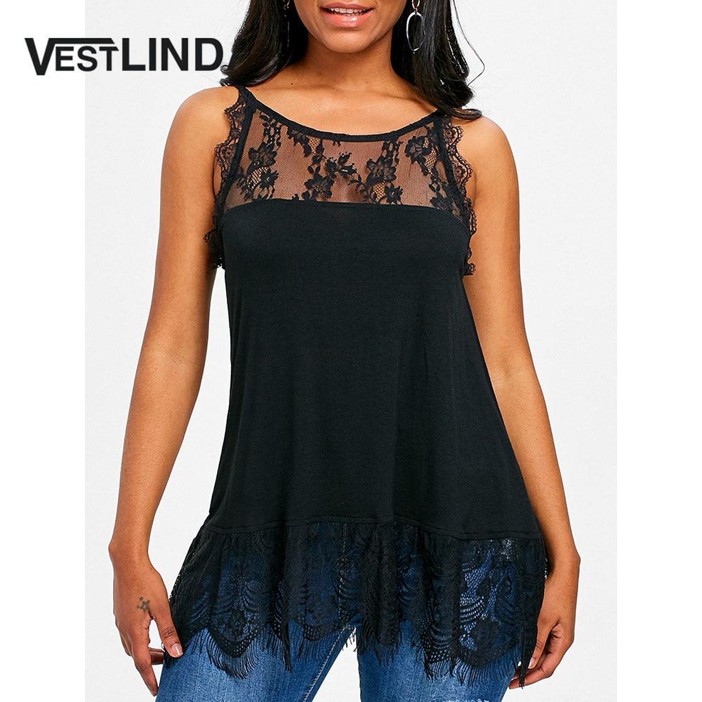 Tops & Tees Women's Clothing Vestlinda Casual Scoop Neck Sleeveless Peplum Ruffle Hem Tank Top Women Clothing Summer Tops Female Cotton Solid Black Tanktop At All Costs