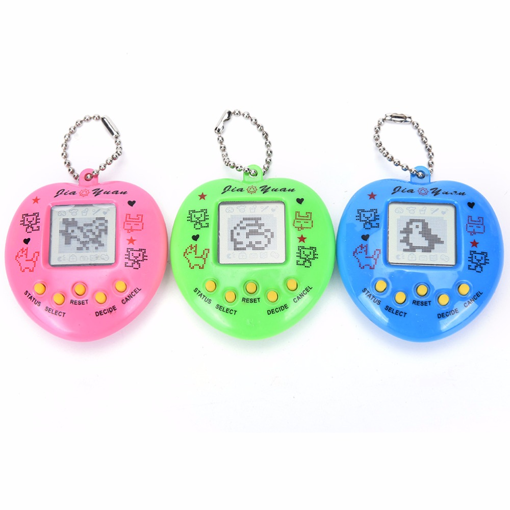 1PCS Random Mini Electronic Pet Game Machine Tamagochi 168 Pet In 1 Learning Education Toys For Children Toys