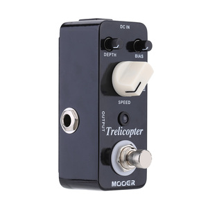 Image 2 - Mooer Trelicopter Micro Mini Optical Tremolo Effect Pedal for Electric Guitar True Bypass