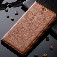 Case For Xiaomi 4s Mi4s M4s Genuine Leather Magnetic Stand Flip Case Cover Phone Bag + Free Gifts