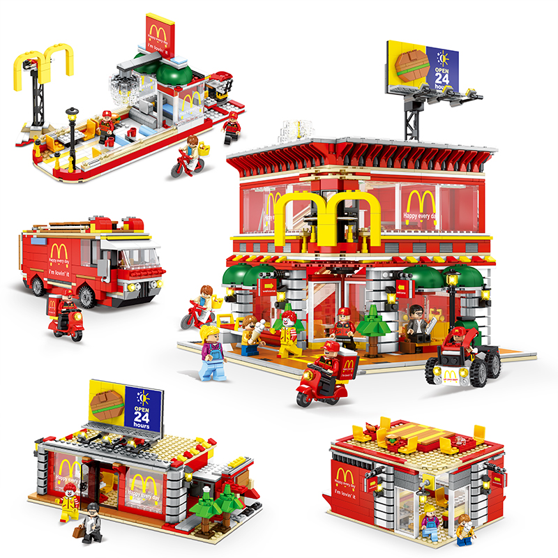 4-In-1-Sembo-SD6901-Mini-Street-View-LED-McDonaldss-Restaurant-House-Building-Blocks-Model-Compatible (2)