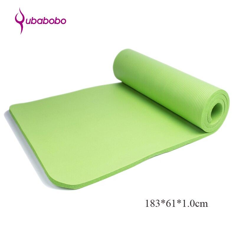 10MM NBR Esterillas de yoga antideslizantes para el ejercicio Pilates - Fitness y culturismo