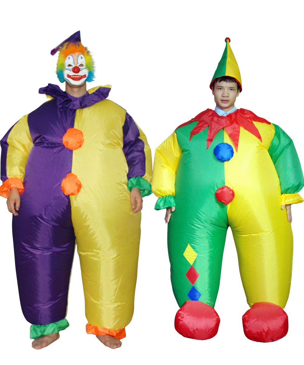 online kaufen gro handel aufblasbare clown kost m aus china aufblasbare clown kost m gro h ndler. Black Bedroom Furniture Sets. Home Design Ideas