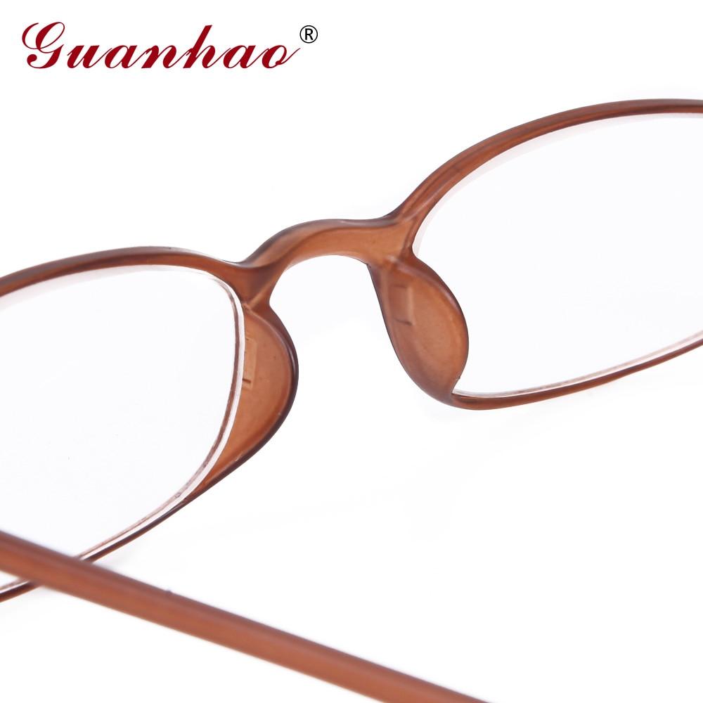 Guanhao frauen retro brille ultraleicht schlanke lesebrille unisex - Bekleidungszubehör - Foto 4