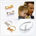 Ouro Prata Bonito Clipes Para Harper Sete Beckham Bobina Espiral Faixas de Cabelo Pinos Acessórios 2016 Meninas Novas Redemoinho Grampos Headbands