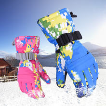 Новые женские и мужские лыжные перчатки для сноуборда снегохода