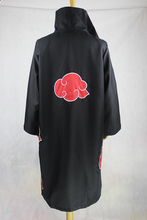 Anime Naruto Akatsuki Halloween Polyester Dress For Men Party Outfit