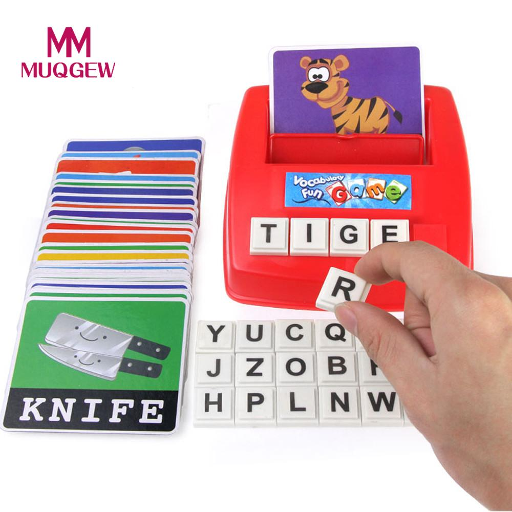 Kids Educational toy Alphabet Letter Word Spelling Game ...