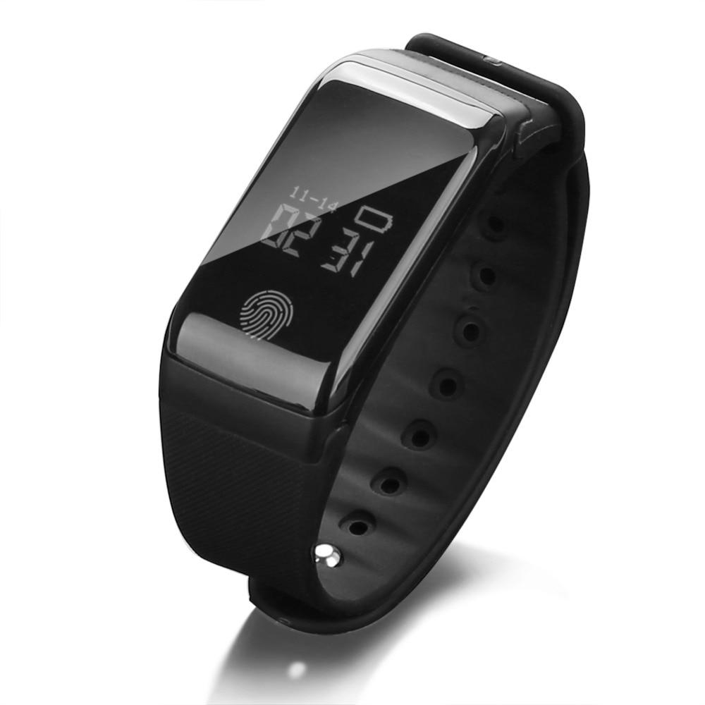 Digital Waterproof Sport Pedometer Intelligent Watch Heart Rate Sleep Blood Pressure Health Monitor Camping Hiking Cycling Watch