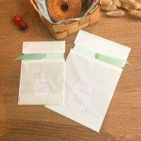 Striscia di luce verde decorazione sacchetto del regalo della caramella dessert sacchetti per festa nuziale di compleanno regali borse verde ribbon incluso