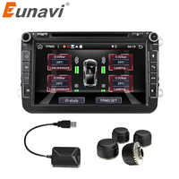 Eunavi Auto TPMS Universal Android Tire Pressure Monitoring System für OS DVD Player USB Interface interne extra für alle autos