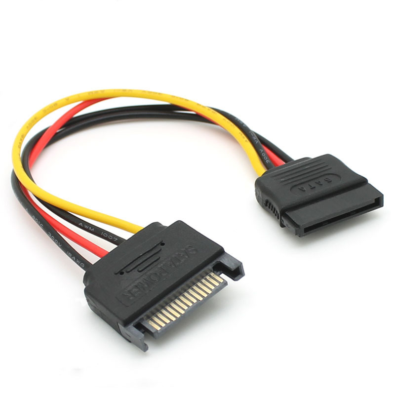 Sata Cable Port : Aliexpress buy pcs lot pin sata male to female m