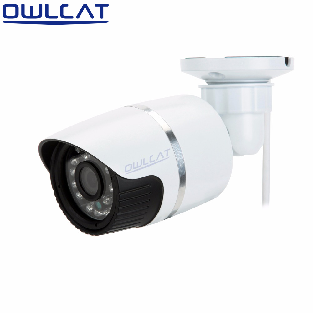 Aluminum Metal Outdoor Waterproof Bullet CCTV IP Camera Full HD 720P 960P 1080P Security Camera IR LED Day Night ONVIF full hd 1080p bullet outdoor security camera ip 960p 720p 1mp 25fps free shipping