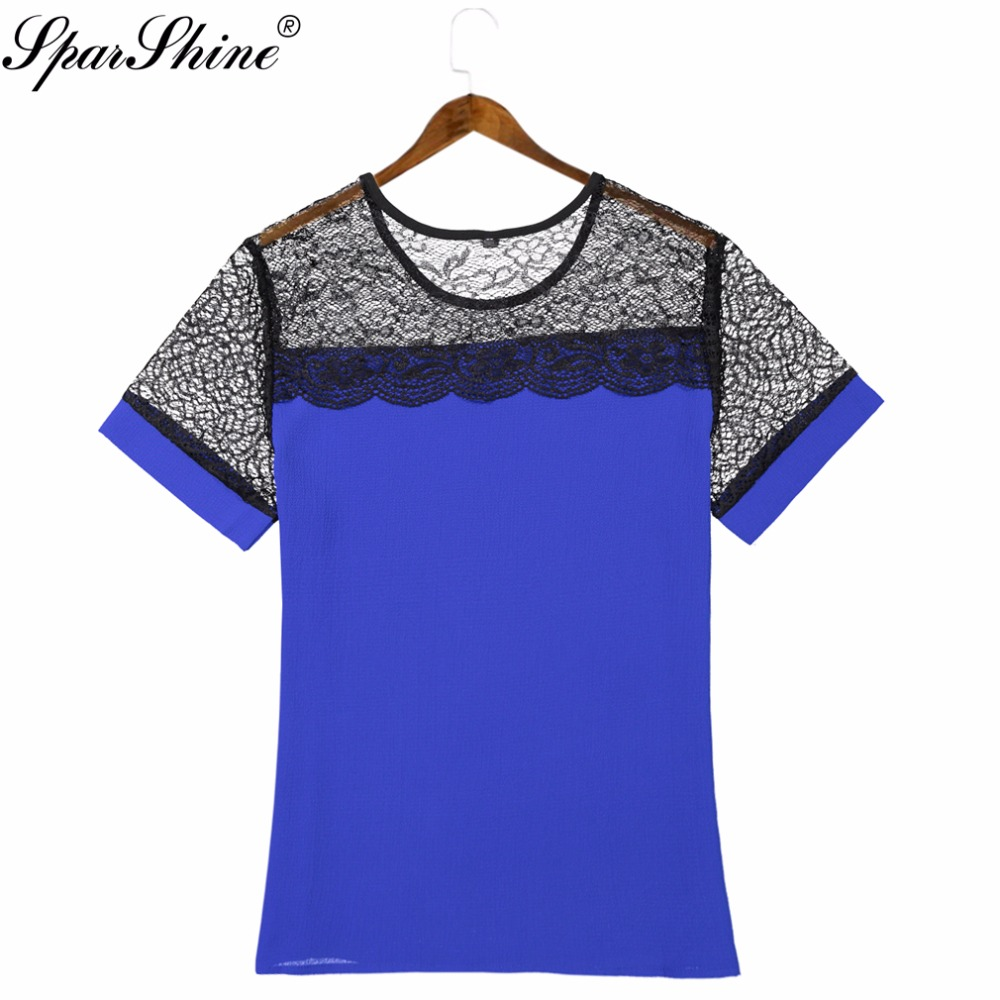 Online Get Cheap Blue Chiffon Blouse -Aliexpress.com | Alibaba Group