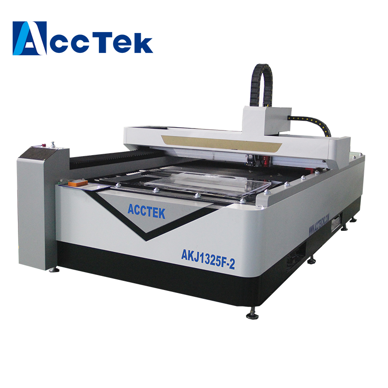 Manufacturers Supply High Technology Mix Cutter Fiber Laser Cutting Machine With Multifunction Cutting Head AKJ1325F