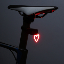 Bicycle Tail Light Multi Lighting Mode USB Charge Led Bike Flash Rear Lights for Mountains