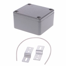 Sealed Die-Cast Aluminum Enclosure Case Junction Box 64x58x35mm LxWxH IP67 Junction Box стоимость