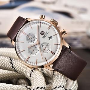 Image 4 - New Benyar Mens Watches Multi Function Wristwatches Mens Top Luxury Brand Watch Male Sport Quartz Chronograph Relogio Masculino