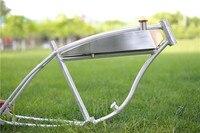 26inch Fuel Tank Aluminum Alloy Frame / Fuel Bicycle Frame / American Fuel Bicycle Aluminum Alloy Frame Retro Frame