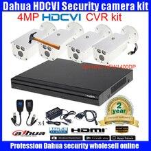Original English DAHUA 4MP VANDALPROOF CAMERA DHI-HAC-HFW1400DP cvi dome camera with 4MP Digital CVR DHI-HCVR7108-4M camera kit