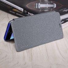 NILLKIN Роскошные блестящие Дизайн корпус смартфона искусственная кожа флип Тип телефона защитная крышка подходит для Meizu Note 6