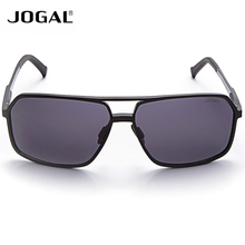 JOGAL Gentle Men Aluminum Magnesium Frame Sunglasses Eyewear Accessories Male UV400 Driving Sun Glasses Sale
