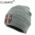 CLIMATE New Hot Men Women Deadpool Winter wARM Hats Soft Beanies Hip Hop Warm Knitted Caps Gorros