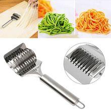 Творческий из нержавеющей стали спагетти лапши производитель решетки роллер-Докер тесто резак инструмент кухня помощник DIY Тесто режущие инструменты
