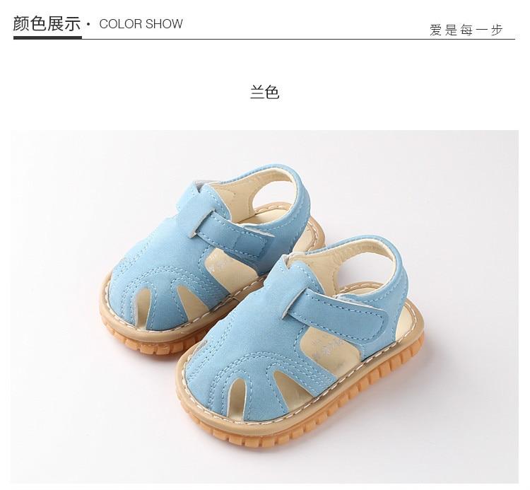 Verão Meninas Bonitos Do Bebê Sapatos de