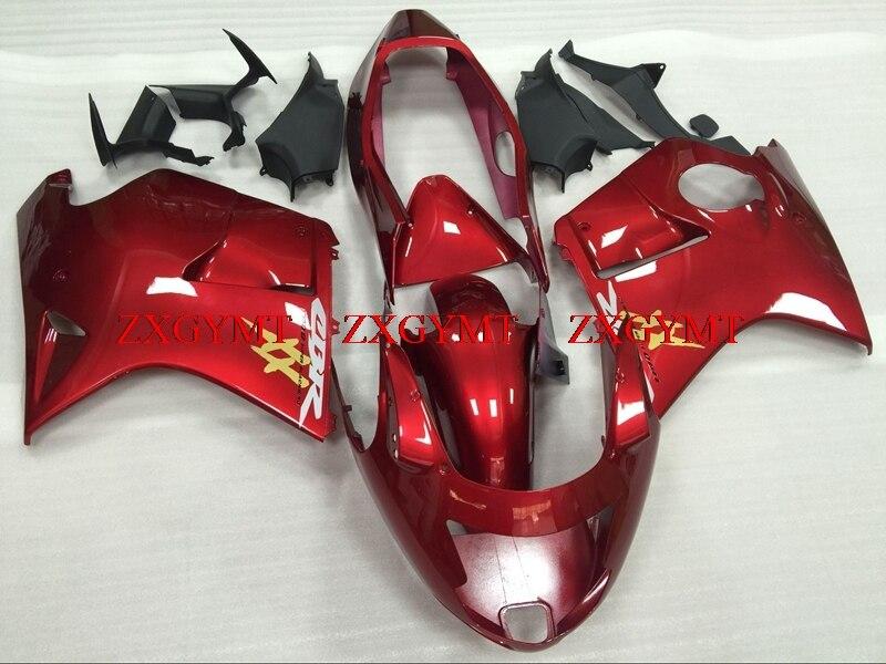 Fairing Kits For BLACKBIRD 1996 - 2005 Fairing CBR 1100 XX 1997 Red Motorcycle Fairing For Honda Cbr1100XX 2001
