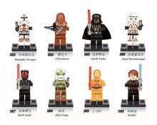 Star Wars starwars Darth vader Darth Maul Chewbacca Single Sale Figures Building Blocks Sets Models Bricks