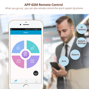 Image 4 - KERUI G18 Senza Fili di GSM di Sicurezza Domestica Sistema di Allarme Antifurto Sensore di Allarme Kit Con La Manopola Auto Rivelatore di Movimento del Sensore di Controllo APP